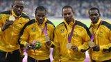 Smashing 4x100m world records - Usain Bolt, Yohan Blake, Michael Frater & Nesta Carter