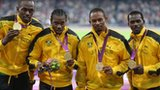 Smashing 4x100m world records - Usain Bolt, Yohan Blake, Michael Frater & Nesta Carter