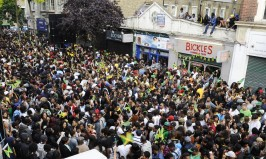 Brixton Splash street party celebrating Jamaica's 50 years of independence from Britain.