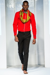 House of Tayo collection at Africa Fashion Week London 2012