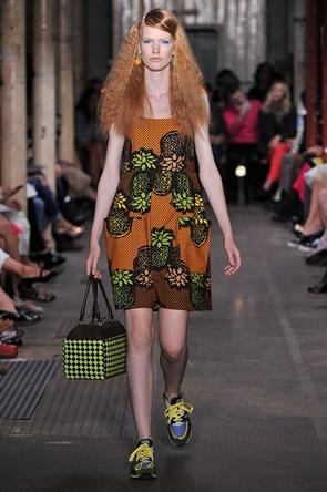 Moschino at London Fashion Week 2012