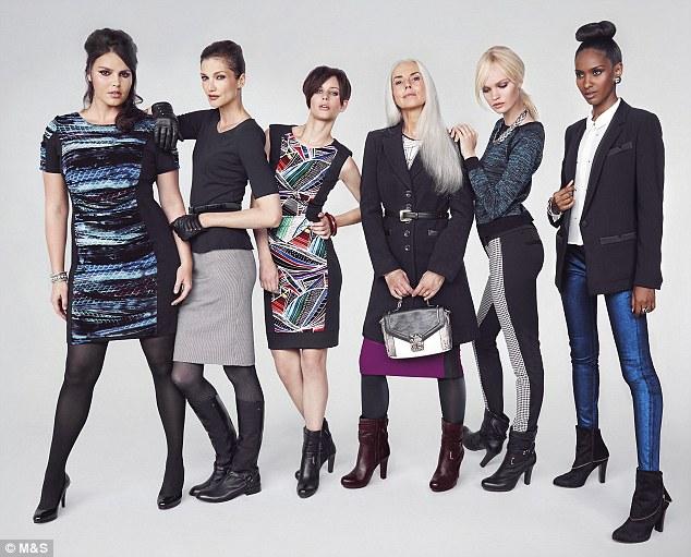 M&S Autumn/winter 2012 ad campaign