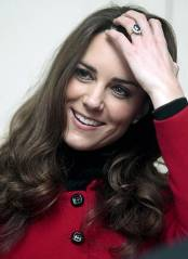 Suspect numero uno: Future Queen Kate Middleton