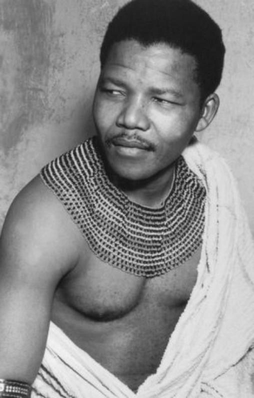 Madiba - a younger Nelson Mandela