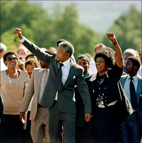 11th February 1990: At age 71, freedom reigned