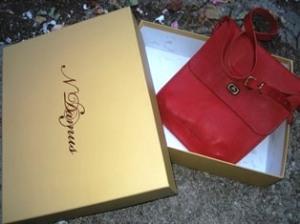 Boxed-in crimson
