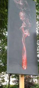 Looks like coke goes up in smoke  http://www.gerardmortimer.co.uk/