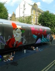 On arrival – Street Artists http://www.urbanart.co.uk