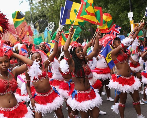 Carnival now...follow da leader! Photo credit: choice-fm.co.uk