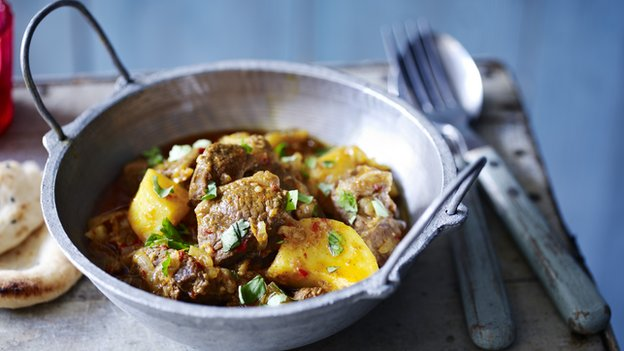 We've all got a favourite Indian curry... Photo credit: BBC Food