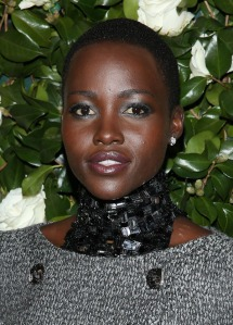 Lupita Nyong'o - Flying the Kenyan flag in Hollywood Photo: blackbeautymagazine.com