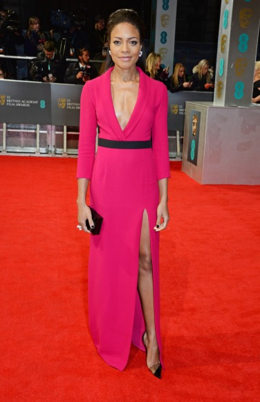 Also flying the British flag... Naomie Harris Photo: Getty Images