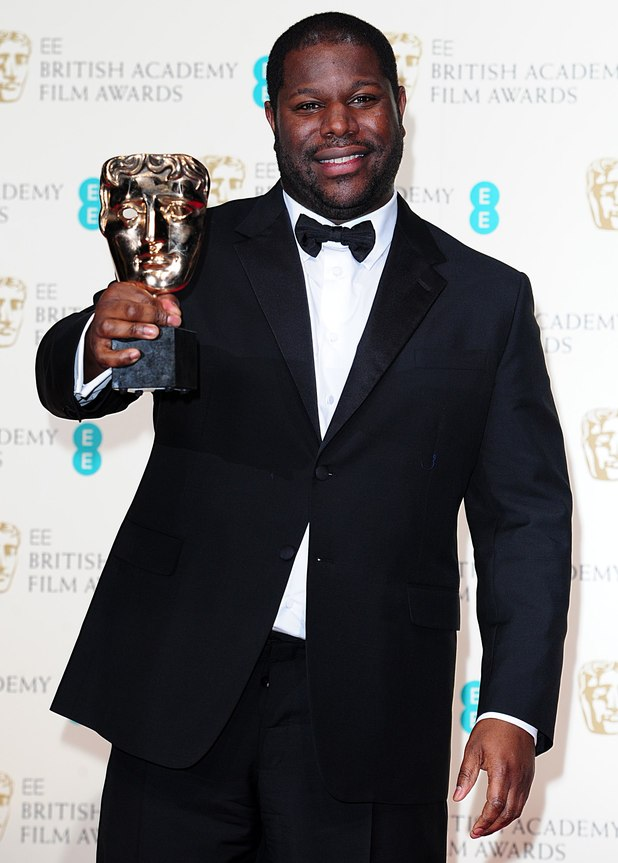 Bafta photo via flickr - Steve McQueen, 12 Years a slave