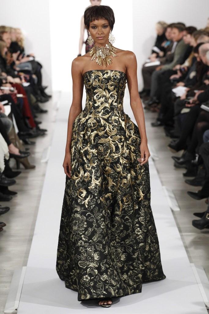 Oscar De La renta ny fashion wk 2
