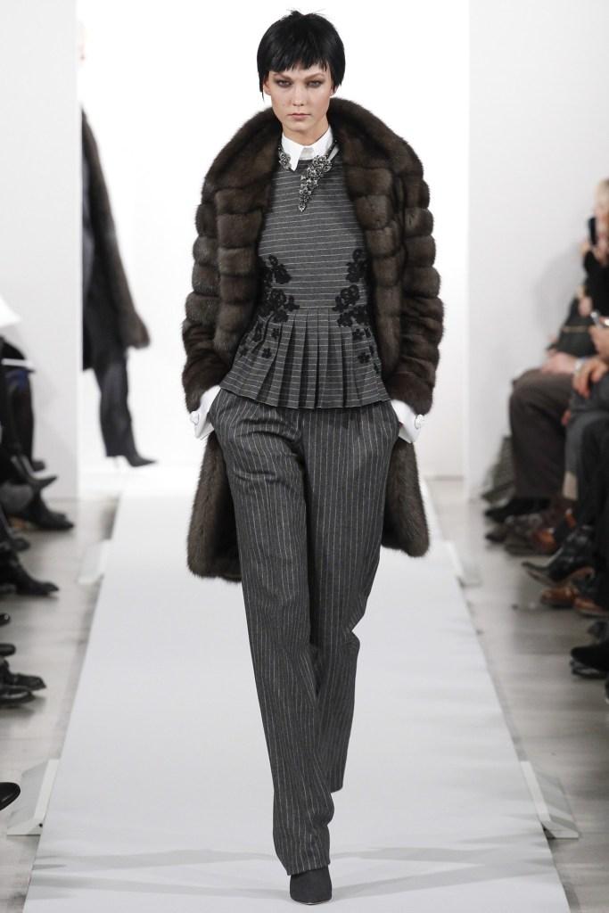Oscar De La renta ny fashion wk