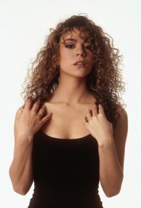 A vision of love?...Love your curls: a Young Mariah Carey