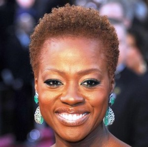 Good hair: Viola Davis, multiple award winning actress