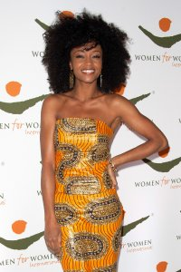 Relax...and smile: Yaya DaCosta, America's Next Top Model finalist