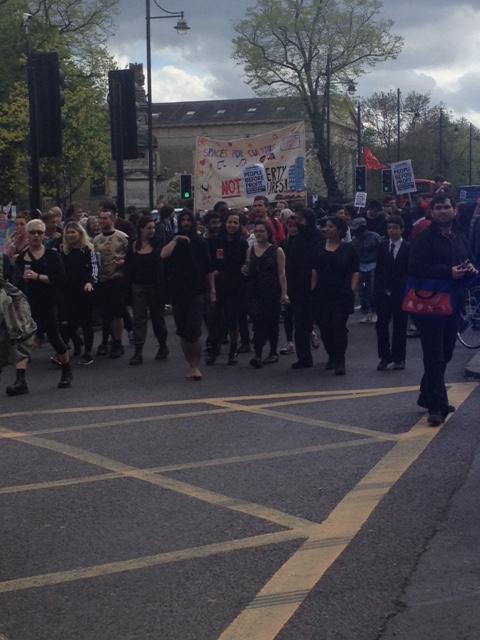 Reclaim Brixton protest