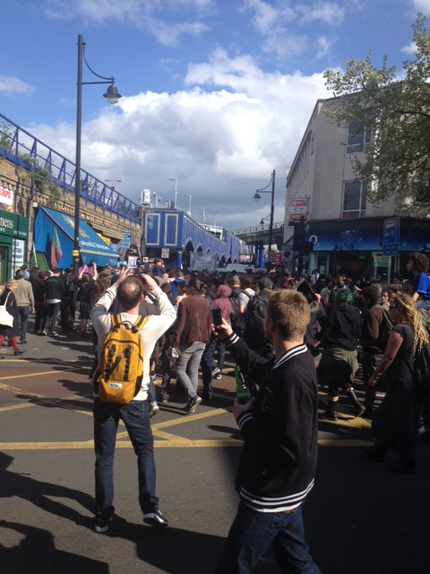 Brixton anti-gentrification protest