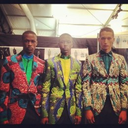 Ozwald Boateng, Ghanaian male fashion designer, british designer