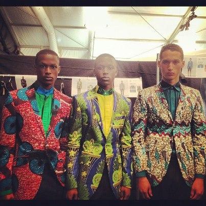 Ozwald Boateng, Ghanaian male fashion designer, british designer