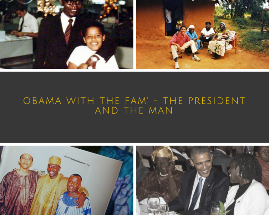 Obama and his kenyan family, Obama goes back to kenya, Obama family