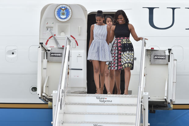 Michelle Obama wears African fashion