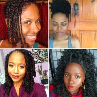 natural hair in the caribbean