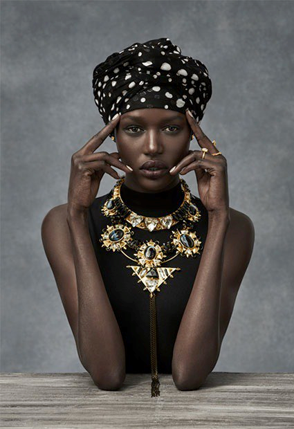 Ajak Deng quits modelling, black models, racisim in fashion, African models, dark skin models
