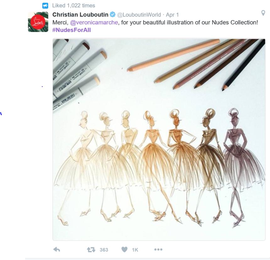 Louboutin nudes sketch