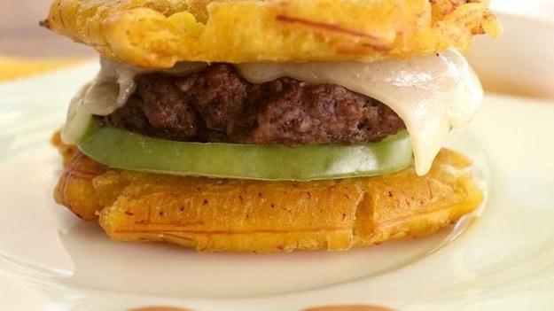 plantain hburger - quericavida.com