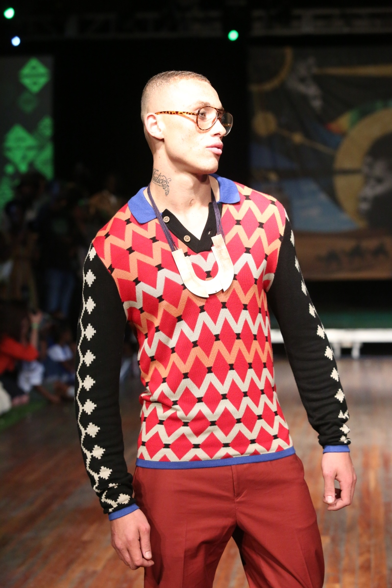 MAXHOSA BY LADUMA Knitwear @ Africa Utopia London