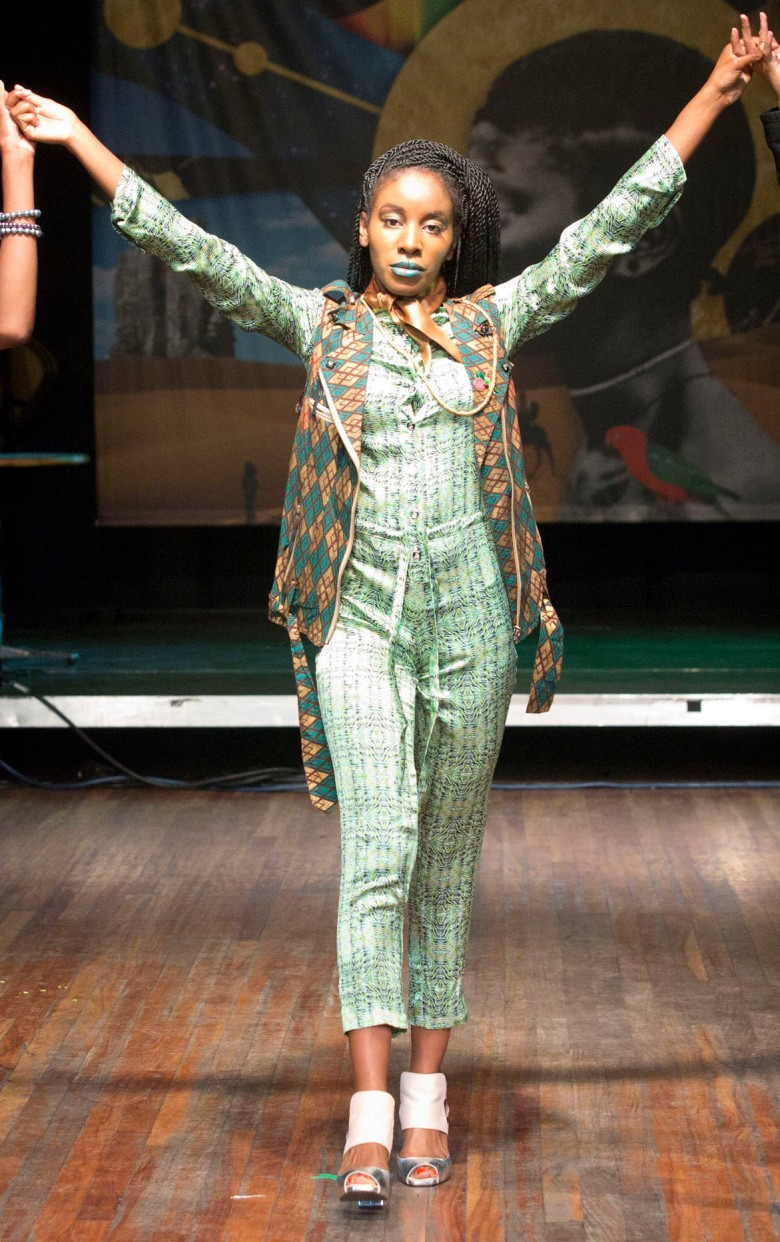 silk jumpsuit, african fashion