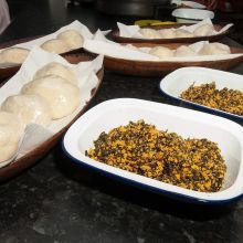 Pounded yam and Egusi stew @tokunboskitchen