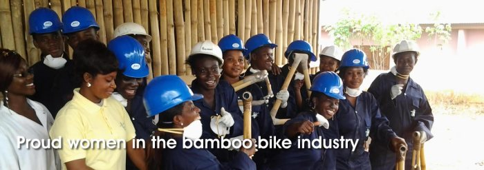 Ghana Bamboo bikes 2