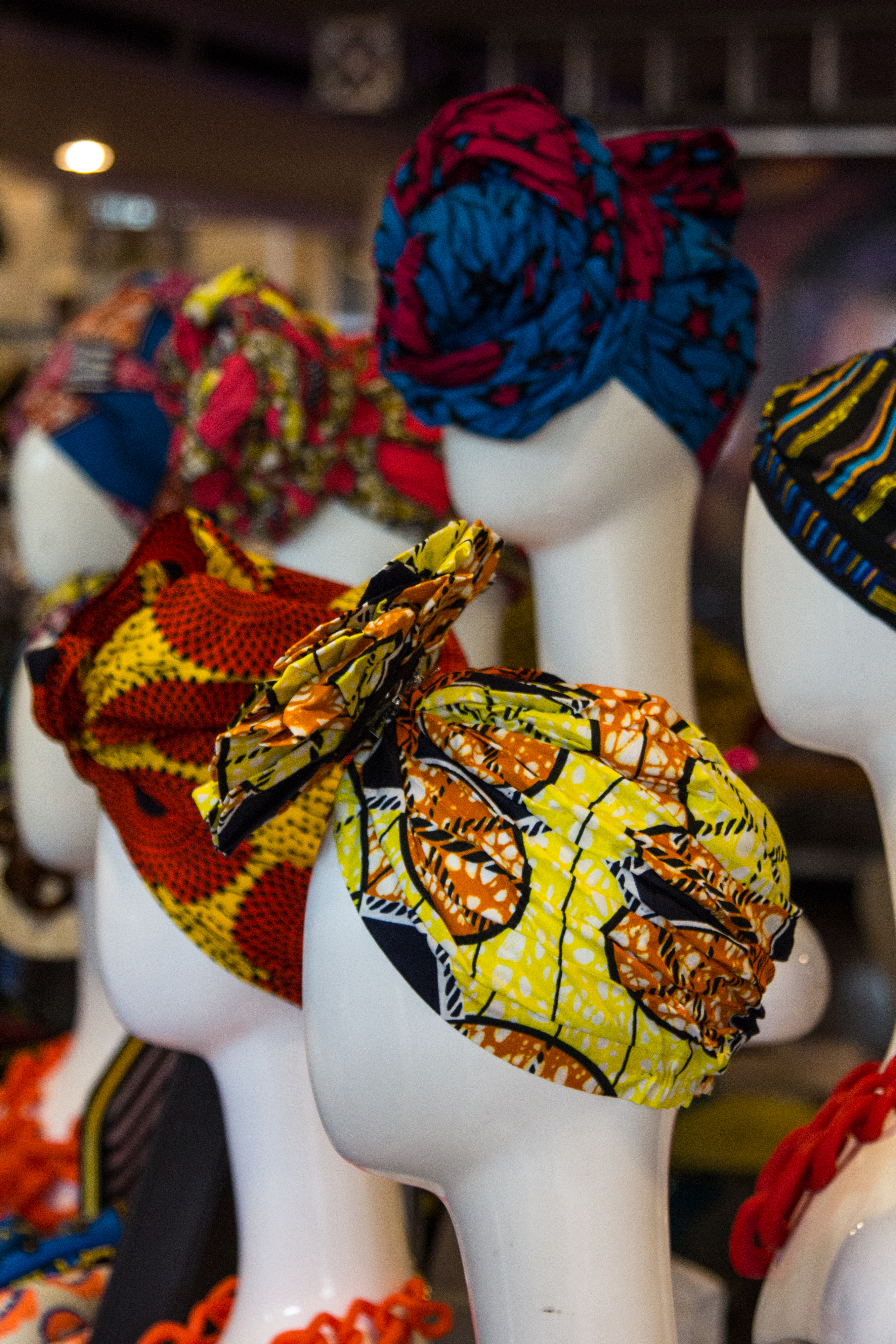 headwraps, african print