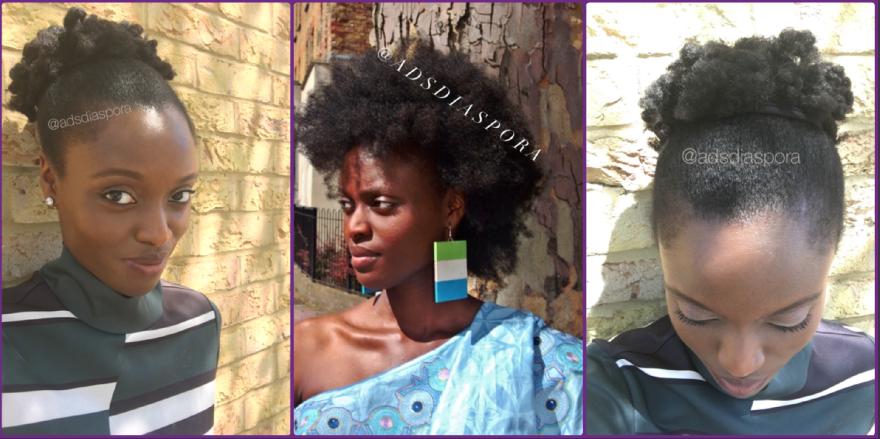 natural hair, afro hair, 4c hair UK, London